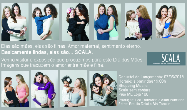 4fda09287307c Flash Curitiba  Exposição  Dia das Mães Scala Sem Costura (Shopping ...