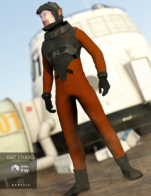 Space Corps for Genesis 3 Male