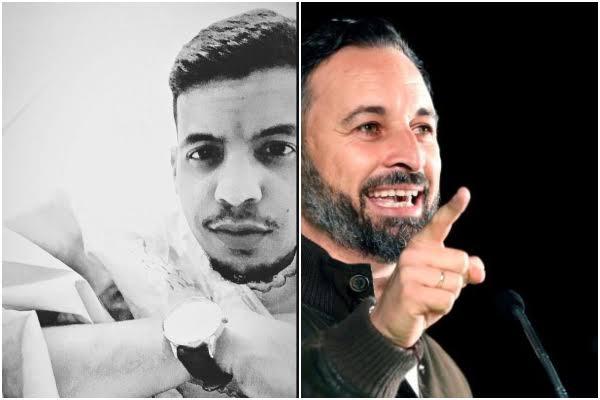 Omar, el joven saharaui que planta cara a Santiago Abascal.
