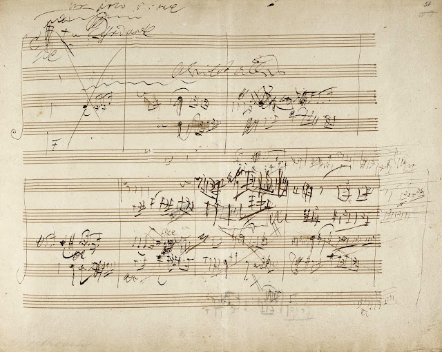partitura Beethoven