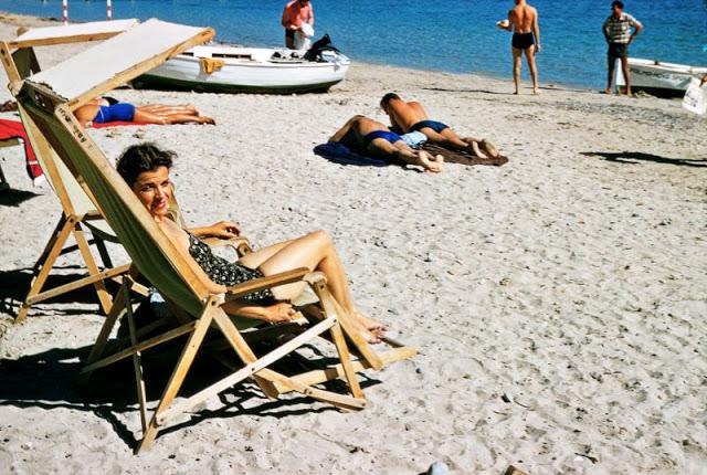 Fotografías antiguas de España a color en los años 50