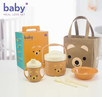Dusdusan Baby Value Pack Set Bear ANDHIMIND