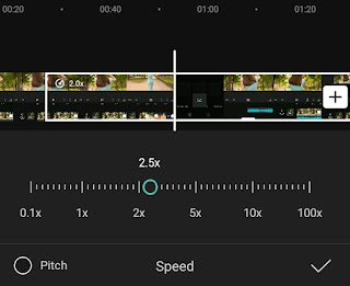 how to speed up video on android