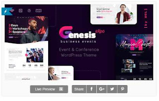 Download GenesisExpo Business Events WordPress Theme