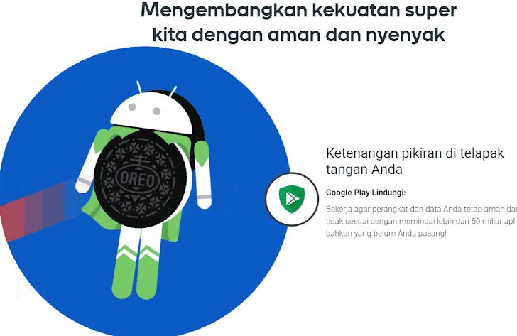Kelebihan Sistem Platform Android 8.0 Oreo