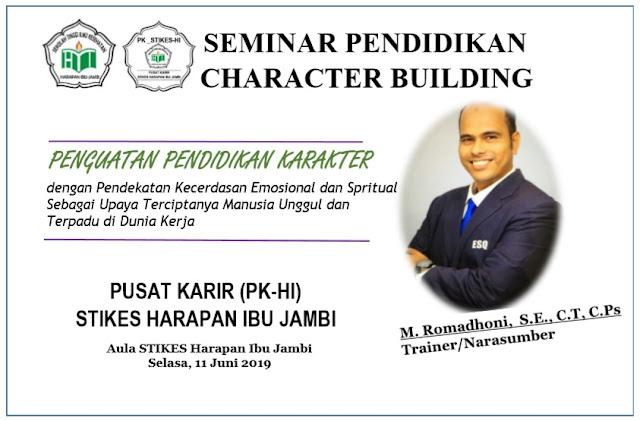Seminar Pendidikan Character Building