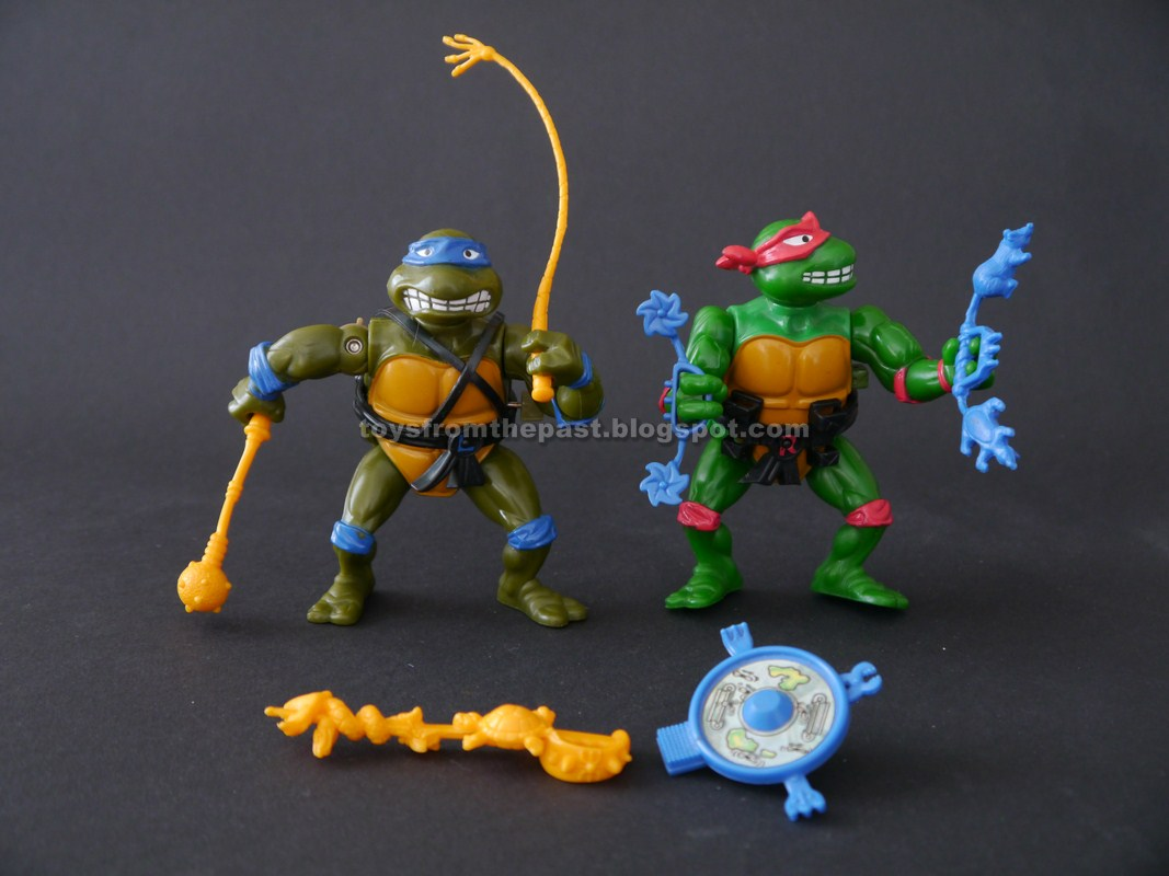 Toys From The Past 887 Tmnt Breakfightin Raphael And Sword