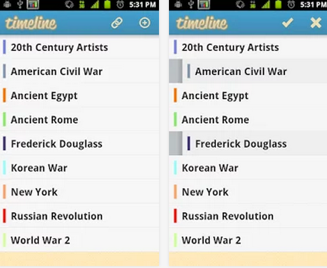 two powerful timeline creation apps for android users educational