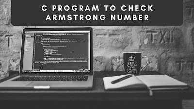 C program to check Armstrong number