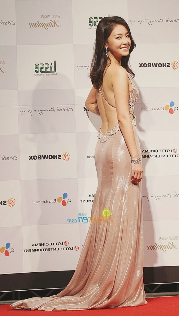 46th Annual Daejong Film Festival Awards (2009) - Hong Soo-hyeon (홍수현), exceptional costume