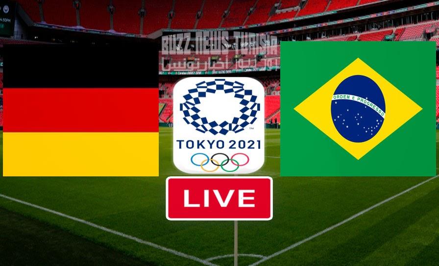 Bresil vs Allemagne En Direct Jo Tokyo 2021 Football