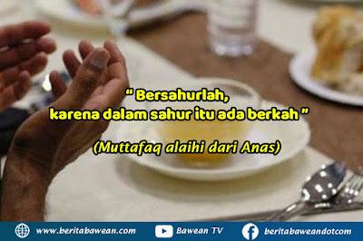 Sahur waktu mustajab berdoa