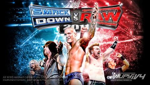 WWE SmackDown vs. RAW (USA) ISO PSP ISOs
