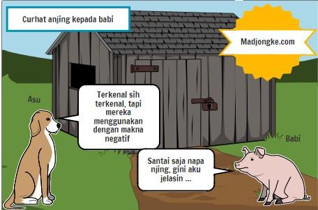 komik curhat anjing kepada babi