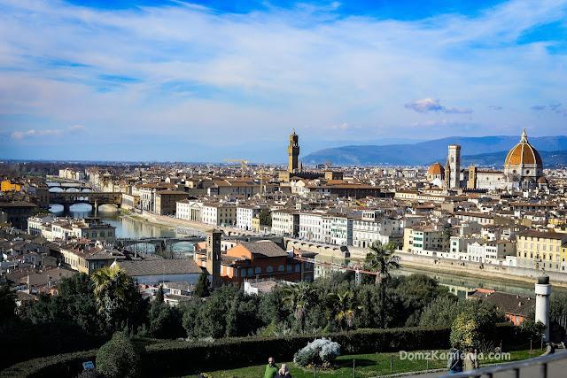 Piazzale Michelangelo panorama Dom z Kamienia