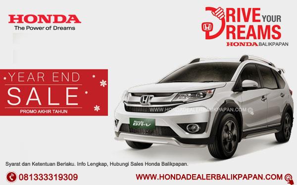 Promo Akhir Tahun Honda BR-V Balikpapan