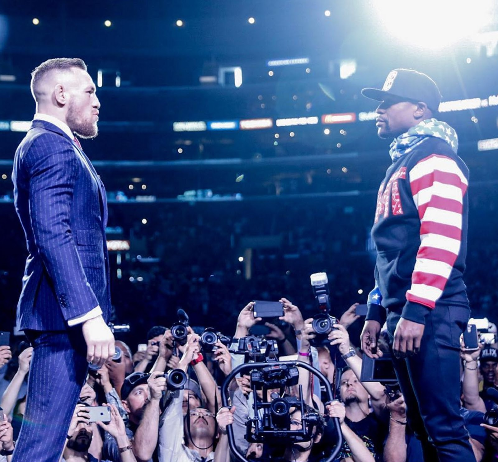 FLOYD MAYWEATHER VS. CONOR MCGREGOR 14
