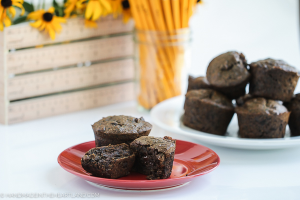 double chocolate vegan muffin recipe
