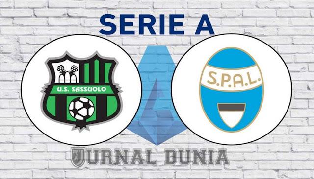 Prediksi Sassuolo Vs Spal 2013