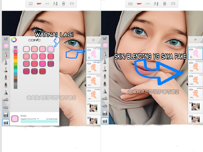 cara edit foto smudge painting android