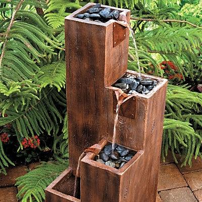 Ideas about Wooden Garden Fountains - Decor Units