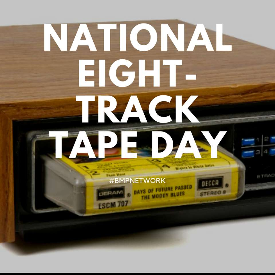 National Eight Track Tape Day Wishes Unique Image