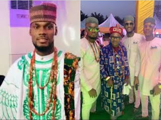 Meet BBNaija Prince's Father, The Wealthy king Of Ebie Land In Imo State And His Brothers