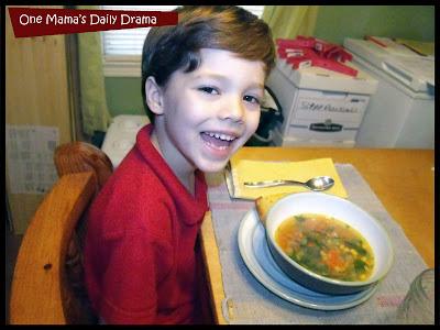 healthy kids choice homemade soup