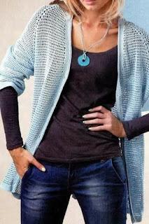 wzór swetra szydełkiem filet