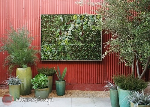 Design Of A Vertical Garden