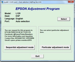 How to Reset Waste Ink Counter Pad Epson L120