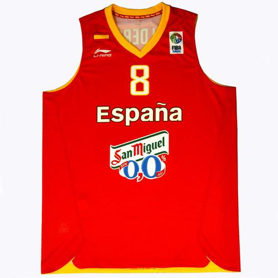 Sorteo: Camisa de la selección española de baloncesto ...