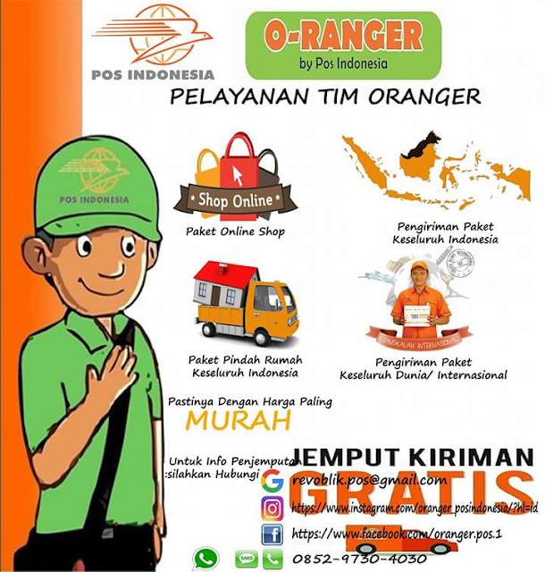 PT Pos Indonesia Siapkan Pasukan Oranger Untuk Layanan Jemput Paket Ke Konsumen