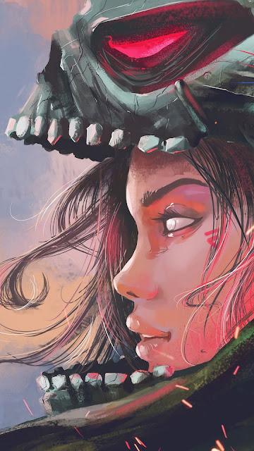 Fantasy warrior fantasy wallpaper