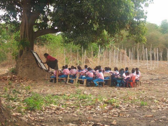 El Rincón Africano De Josean Un Nuevo Colegio De La Salle En áfrica