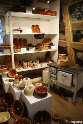 Atelier di ceramiche all'Ecomuseo d'Alsazia