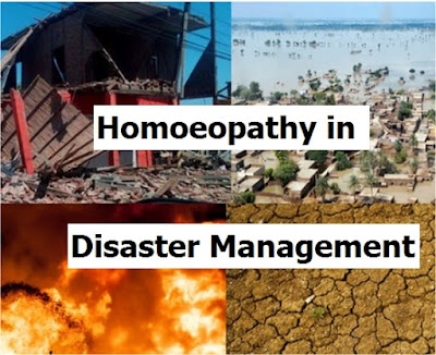 Homoeopathy In Disaster Management