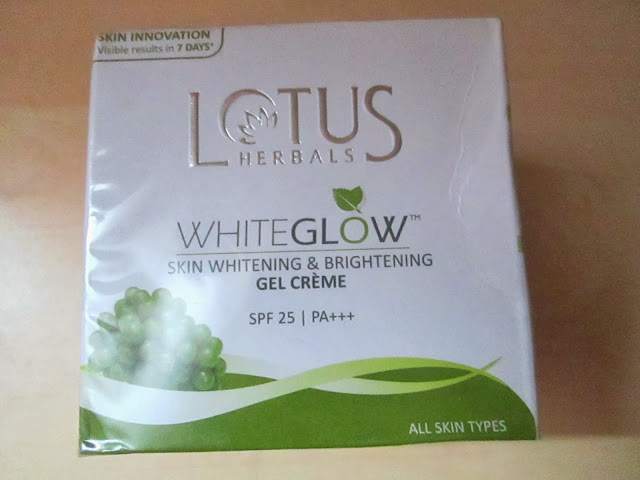 Lotus Herbals Skin Whitening & Brightening Gel Cream