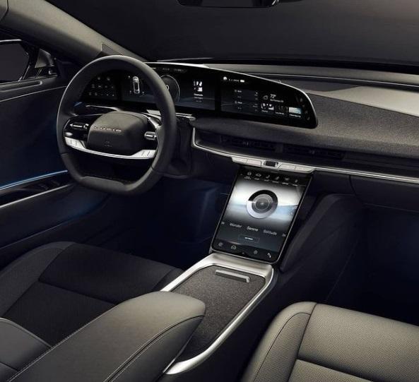 Interior Mobil Lucid