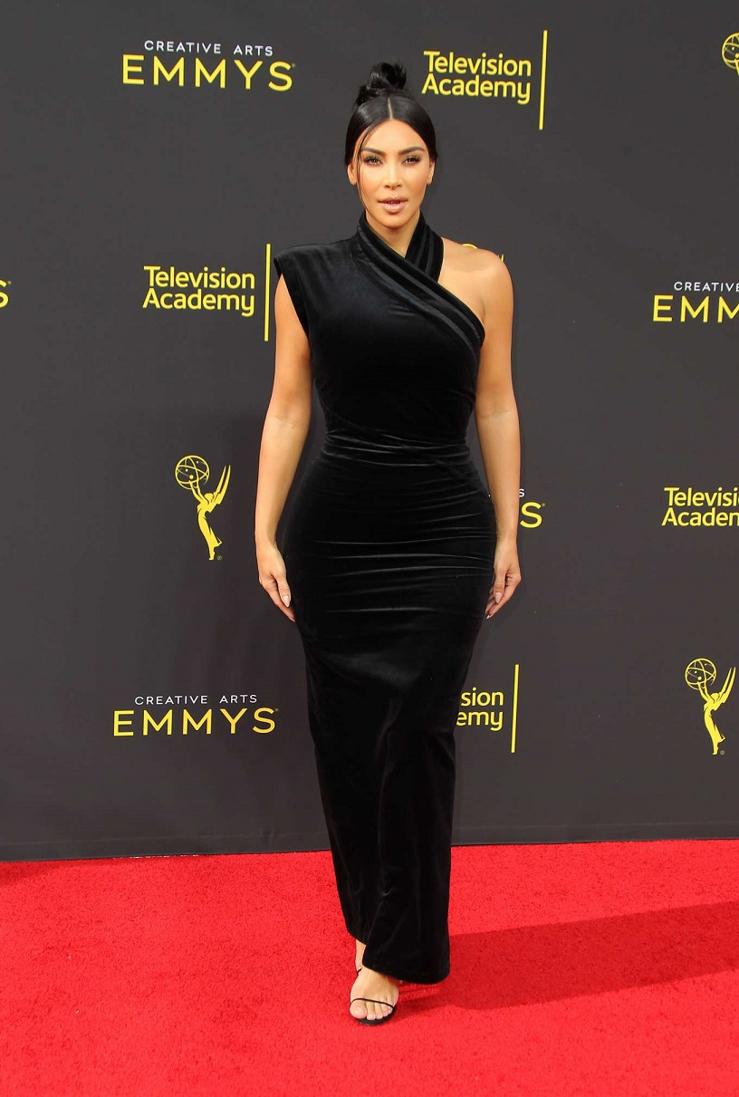 Kim Kardashian – 2019 Creative Arts Emmy Awards in Los Angeles