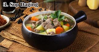 Sop Daging merupakan salah satu ide menu olahan dari daging kurban khas orang Indonesia