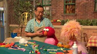 Alan, Elmo, Zoe, Balloono, Sesame Street Episode 4322 Rocco's Playdate season 43