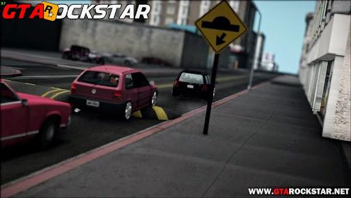 Novo Mod Lombadas com Placas em HD para GTA San Andreas