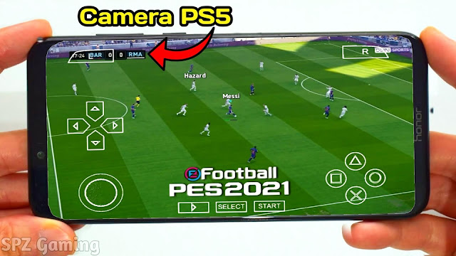 Download PES 2021 Android Offline 400MB Camera PS5 Best Graphics | PES 2020 Mobile