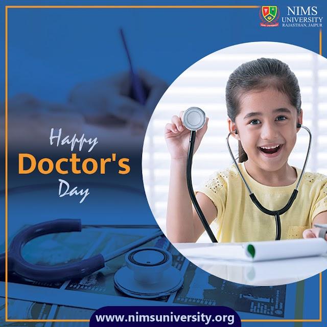 Happy Doctors Day Image | Nims University