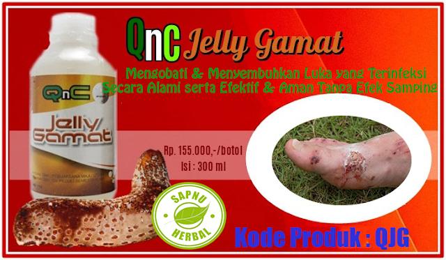 Obat Infeksi Pada Luka Herbal QnC Jelly Gamat