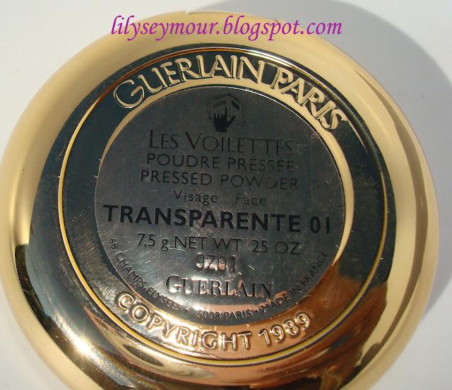 Guerlain Transparente Setting Powder