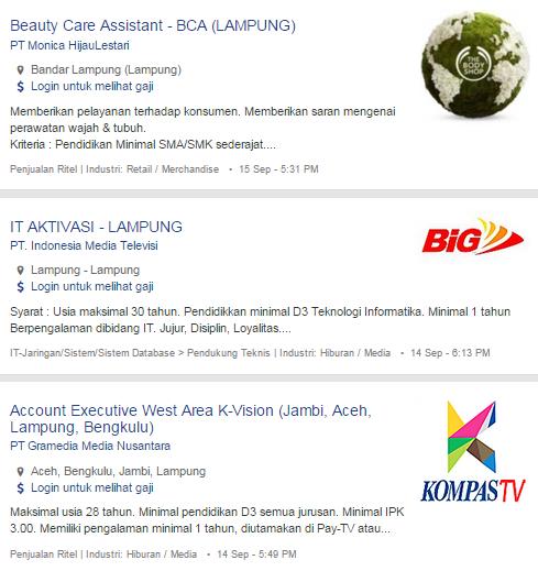 Bulan Ini – Lowongan Kerja Lampung Selatan Terbaru 2019