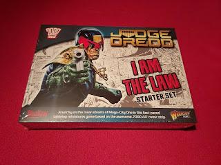 Judge Dredd Miniatures Game Starter Set