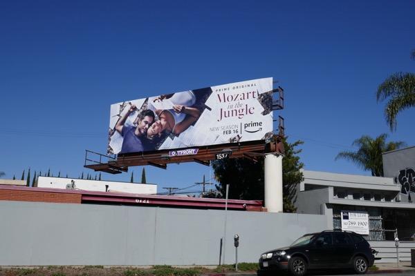 Mozart in the Jungle season 4 billboard